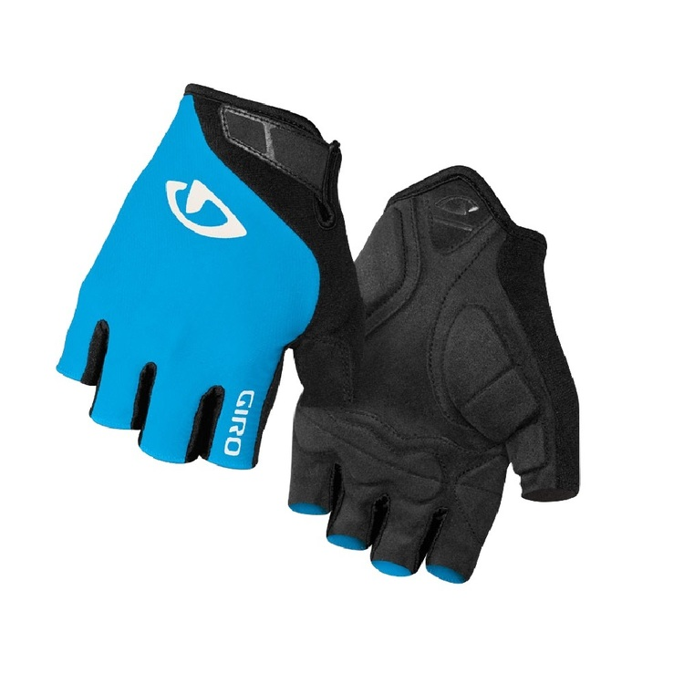 Giro Adult's Jag Cycling Gloves Blue Jewel & Black