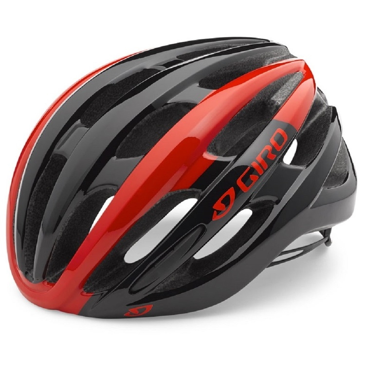 Giro Adult's Foray Cycling Helmet Red & Black