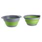 Companion Pop Up 2 Piece Colander & Bowl Set Green