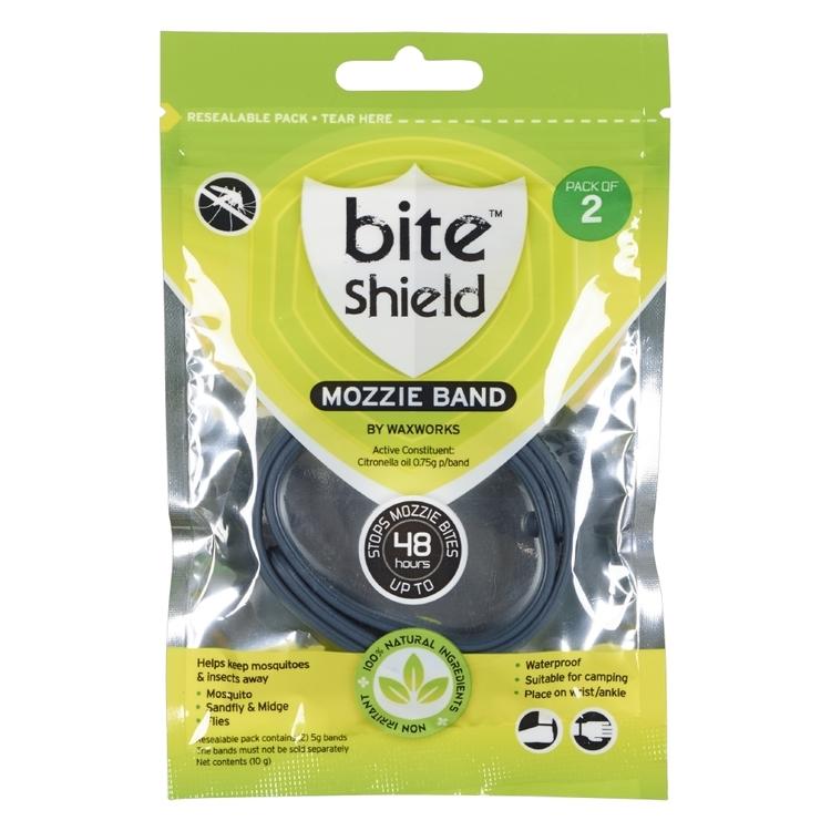Waxworks Bite Shield Mozzie Band