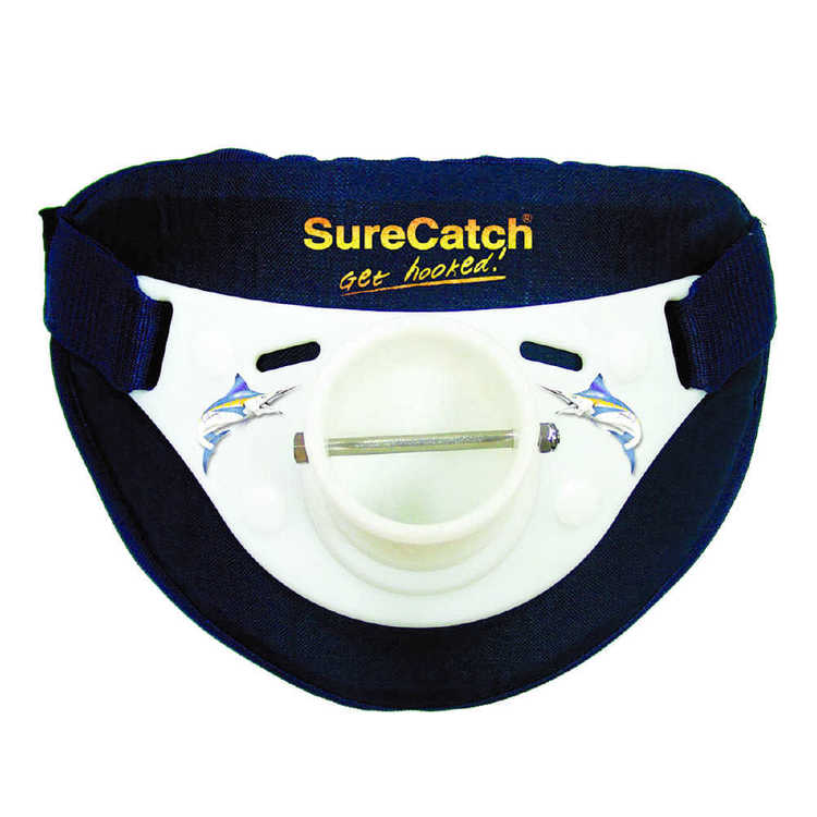 SureCatch Deluxe Saltwater Rod Butt Rest