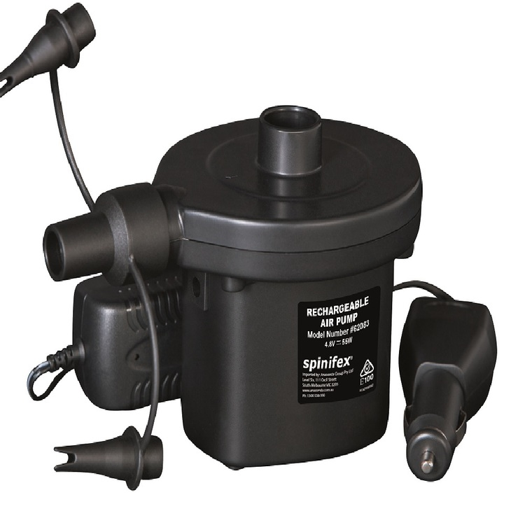 Spinifex Recharge 240 & 12V Air Pump