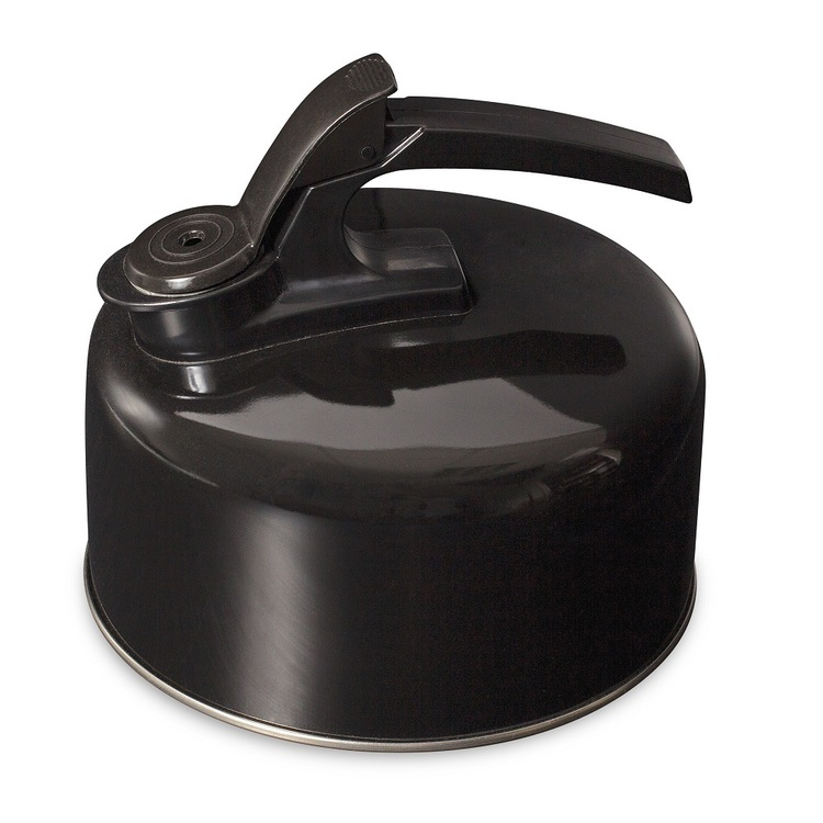 Campfire 304 Stainless Steel Kettle Black