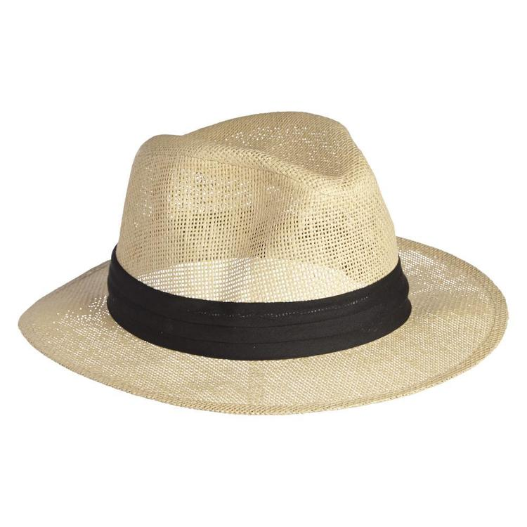 Cape Men's Bermuda Hat Straw One Size Fits Most