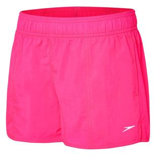 Speedo Girl's Solid Leisure Shorts