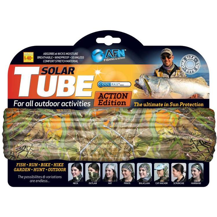 Australian Fishing Network Camo Solar Tube