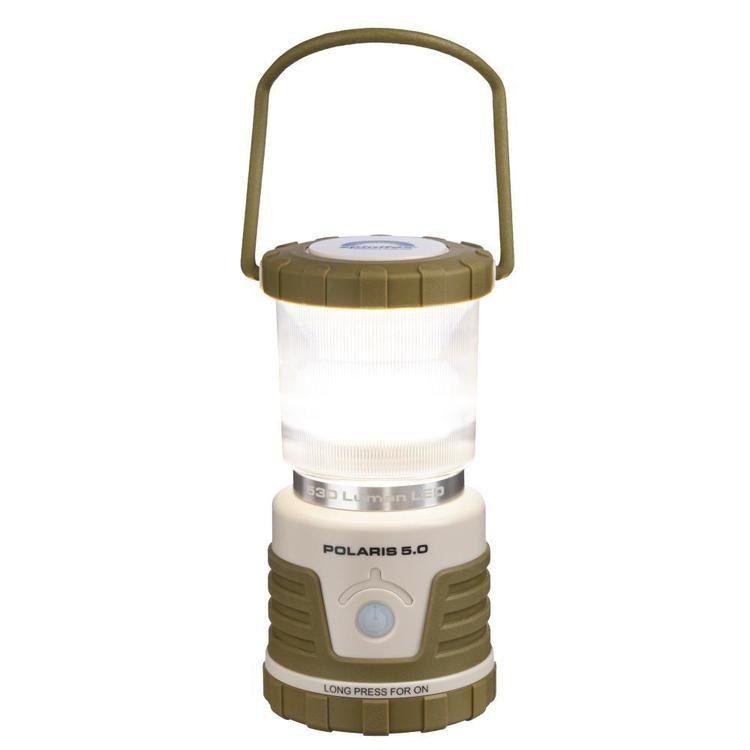 Spinifex Polaris 5.0 LED Lantern Brown & Cream