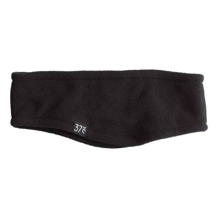 37 Degrees South Kids' Fleece Headband Black One Size Fits Most