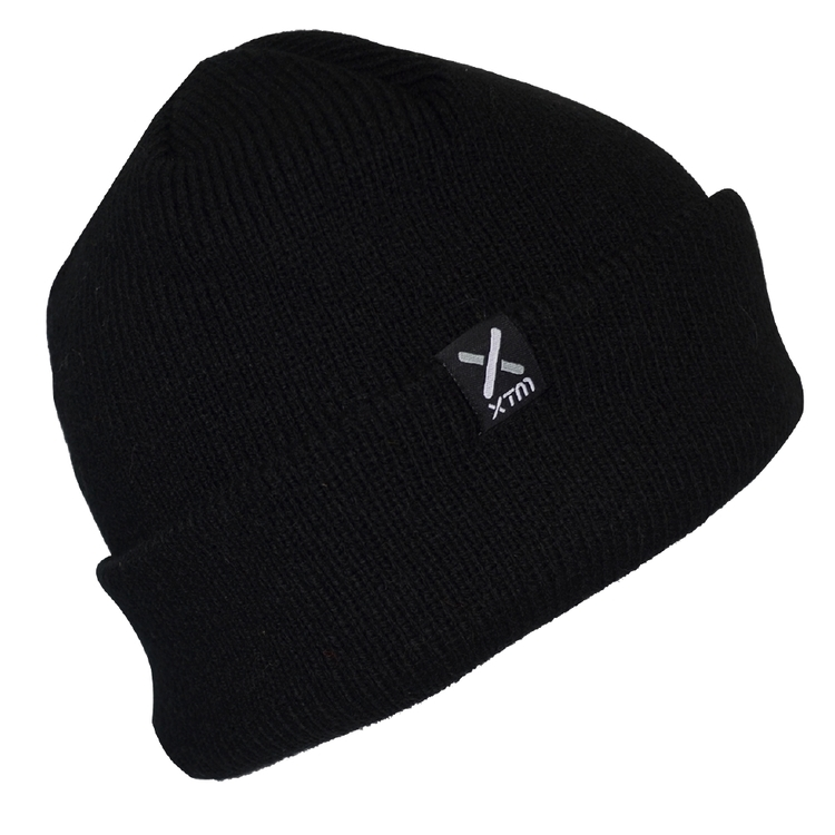 XTM Men's Woodie Beanie Black One Size Fits Most