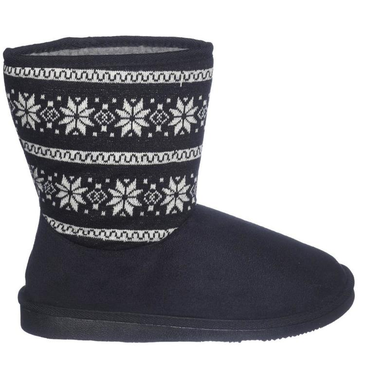 Cape Adult's Hutt Jacquard Boots Black