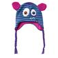 XTM Kid's Zoolander Boo Peru Beanie Purple & Green One Size Fits Most