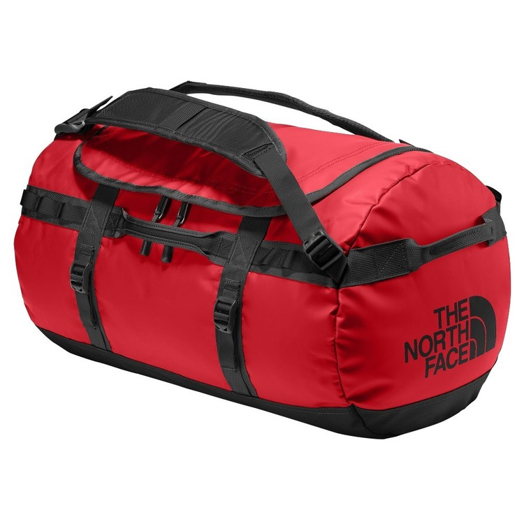 The North Face Base Camp Duffle Bag Red & Black Medium