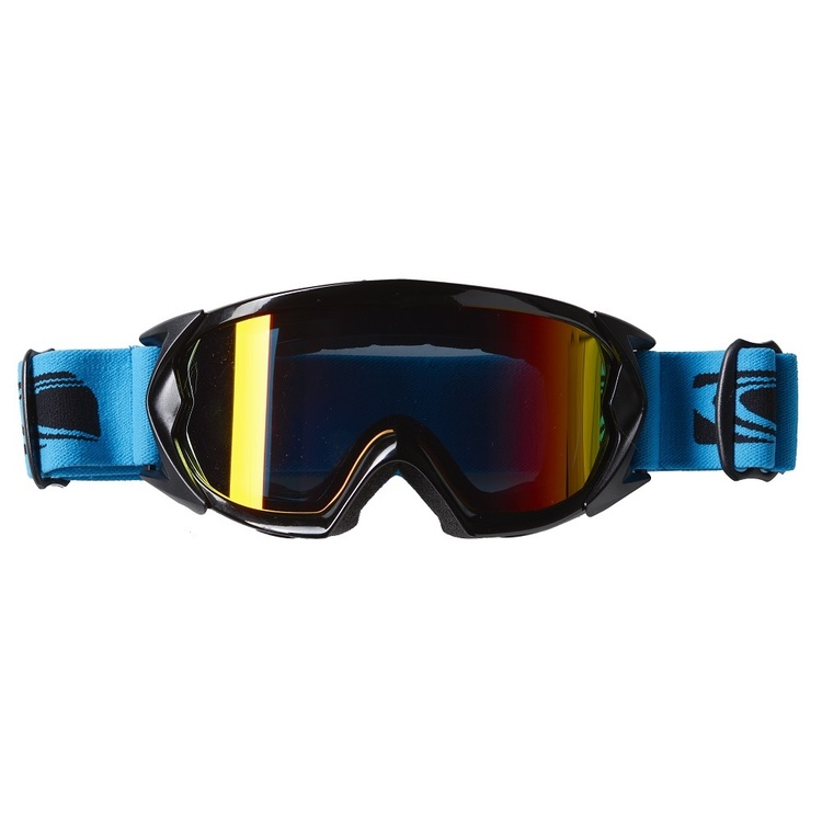 Carve Eskimo Go Blue Revo Low Light Goggles Gloss Black One Size Fits Most