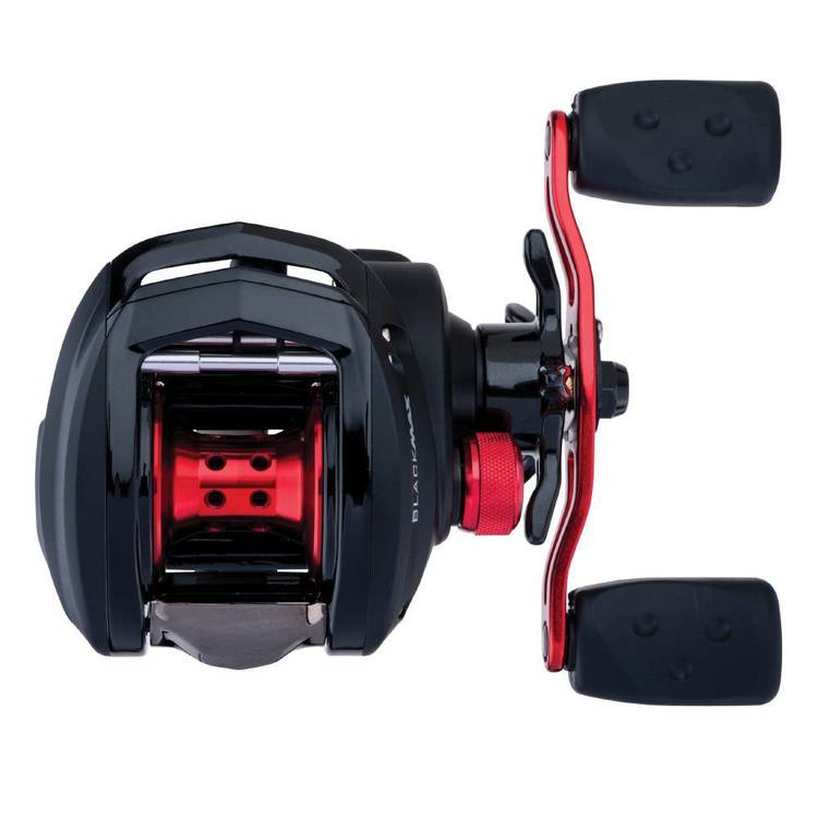 Abu Garcia Black Max 3 Low Profile Baitcaster Reel Black