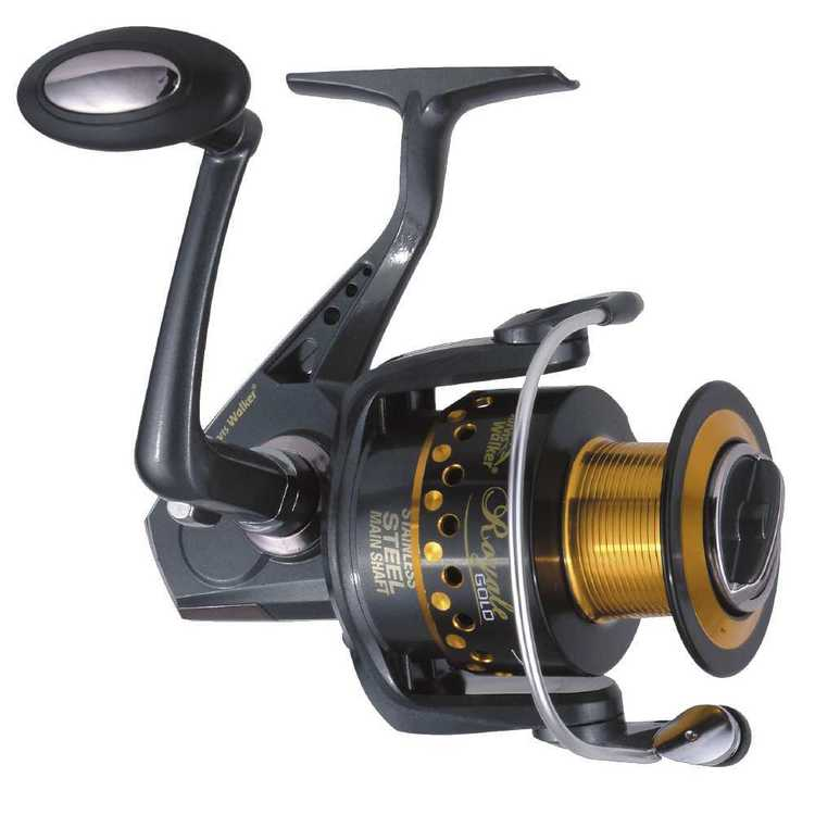 Jarvis Walker Royale Gold SXG6500 Reel Grey & Gold