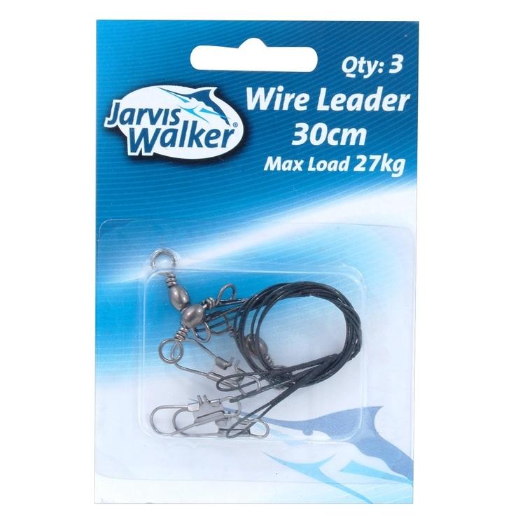 Jarvis Walker 27kg Leader Black Wire
