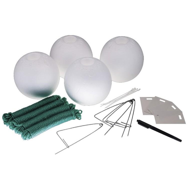 Jarvis Walker Crabbing Kit Large 15 cm Floats 4 Pack
