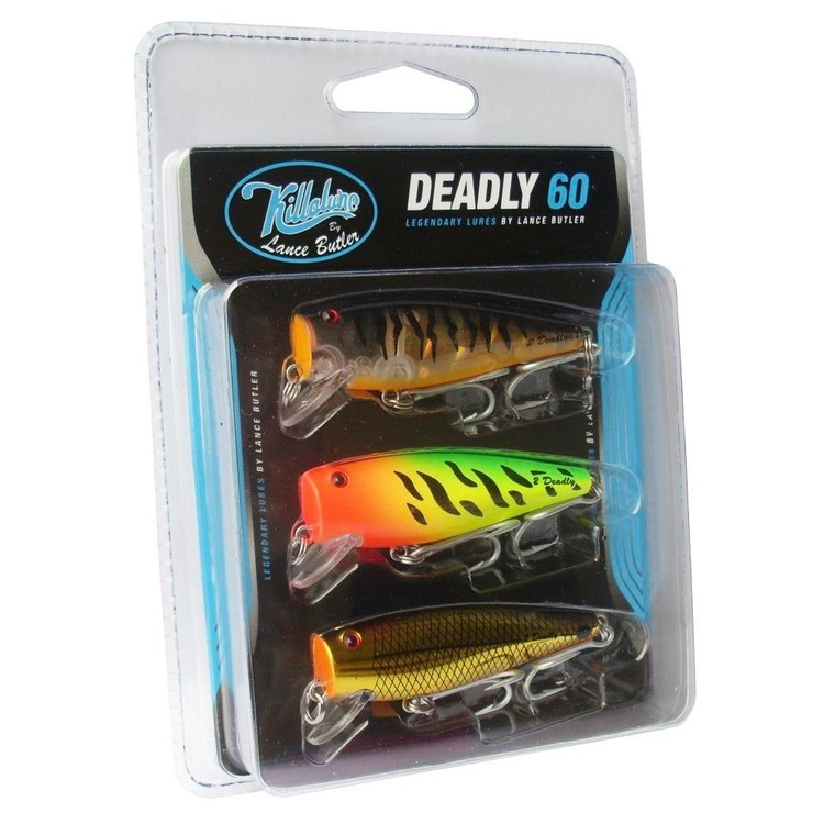 Killalure LB 2Deadly 60 Lure Pack