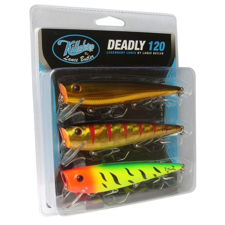 Killalure LB 2Deadly 120 Lure Pack