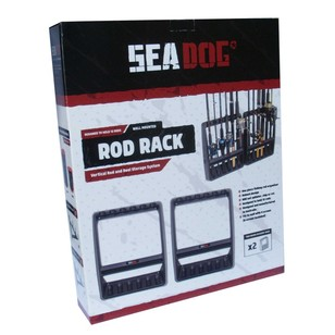 Sea Dog Vertical Rod Rack 2 Pack
