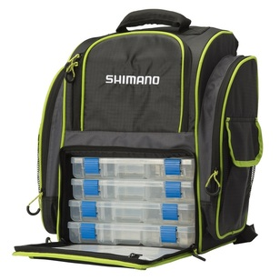 Shimano Backpack with Tackle Trays
