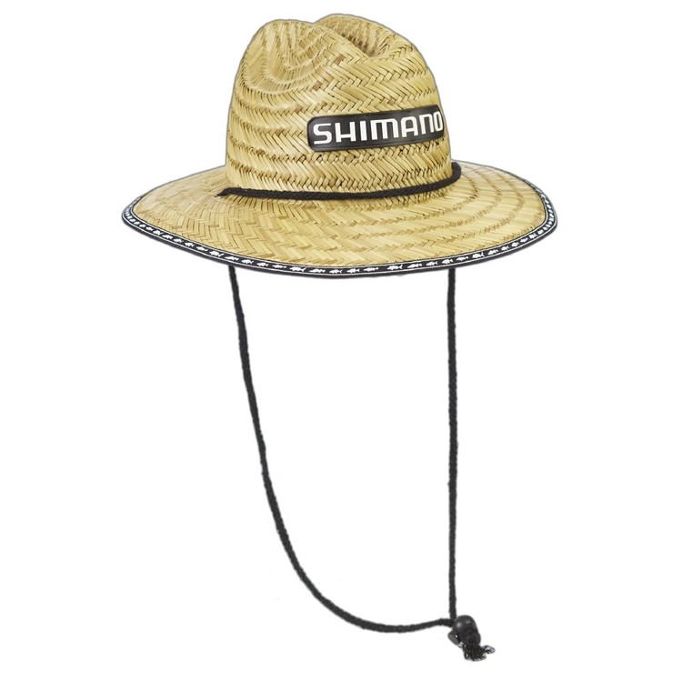 Shimano Kids Sunseeker Straw Hat Natural One Size Fits Most