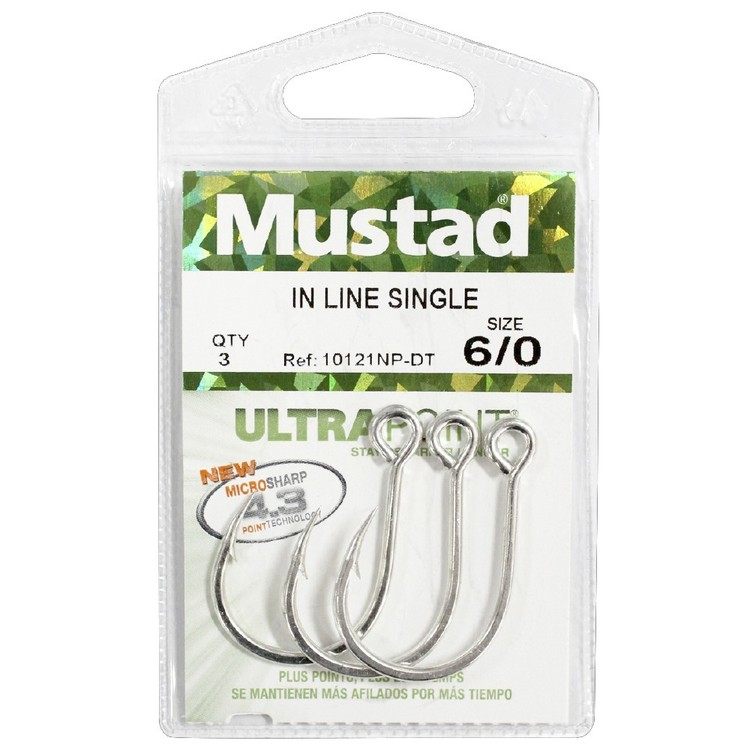 Mustad Kaiju Inline Single Hook Pack
