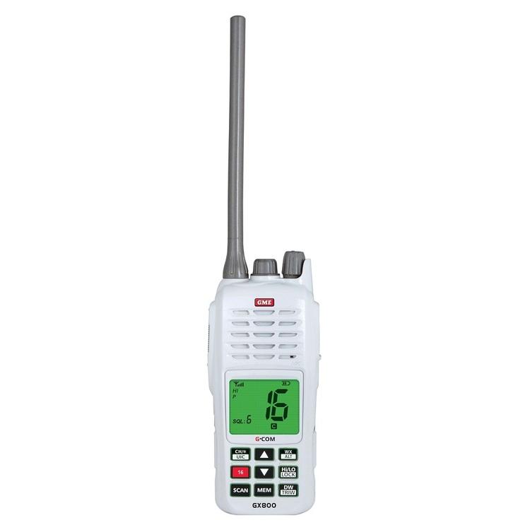 GME GX800 VHF Handheld Marine Radio