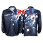Bigfish Aussie Pride Sublimated Polo Shirt Navy