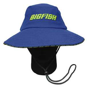 Bigfish Blue Wide Brim Hat