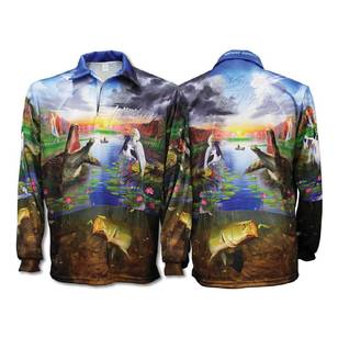Bigfish Territory Sublimated Polo Shirt