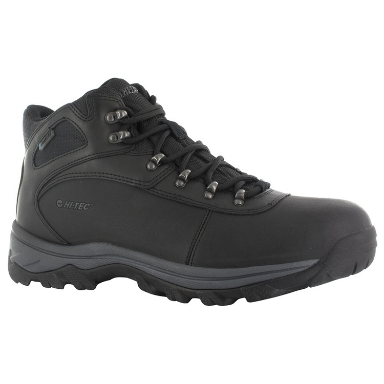 Hi Tec Men's Altitude Base Camp WP Hiking Shoes Black