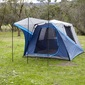 Spinifex Daintree Instant 4 Person Tent Blue & Silver