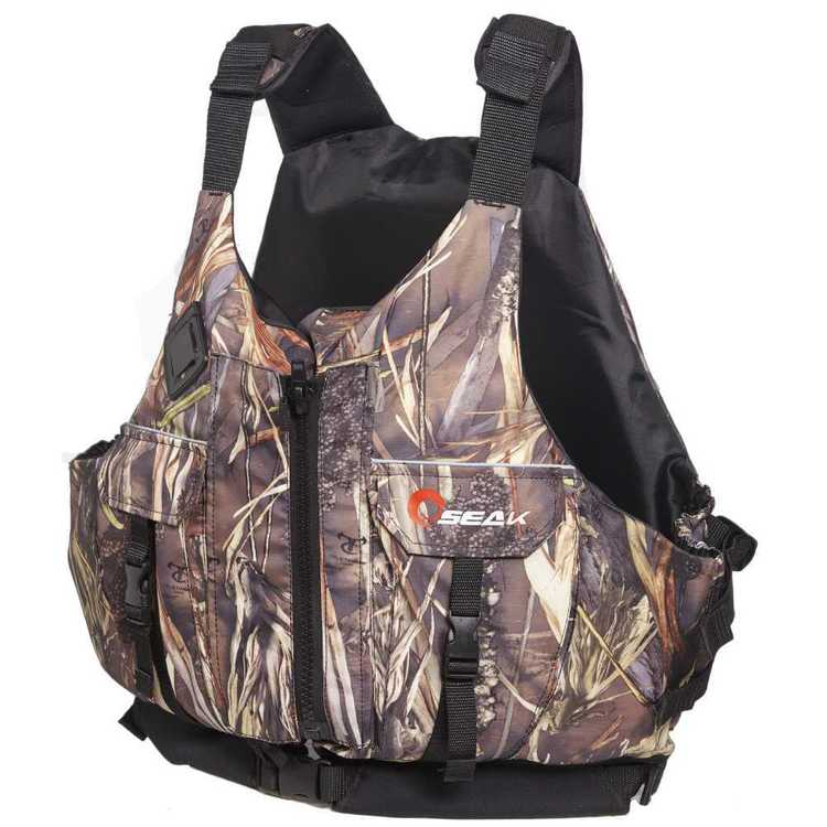 Seak Adult's Fish Hunter L50S PFD Camo