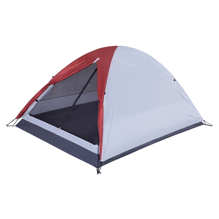 Spinifex Cooper 2 Person Tent Grey & Red