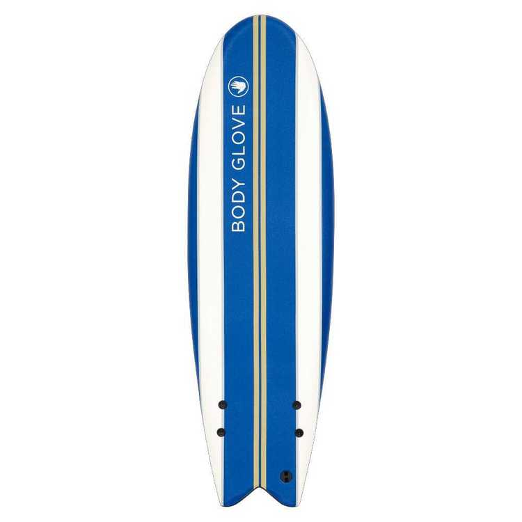 Body Glove 5'11' IXPE Surfboard Blue & White 5 ft 11 in