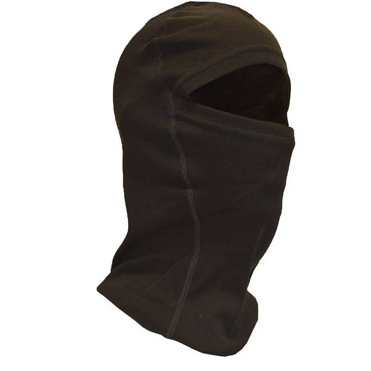 XTM Men's Merino Balaclava Headwear Black One Size Fits Most