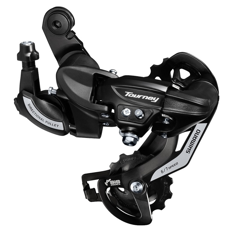 Shimano Tourney Rear Derailleur 6/7-Speed Black