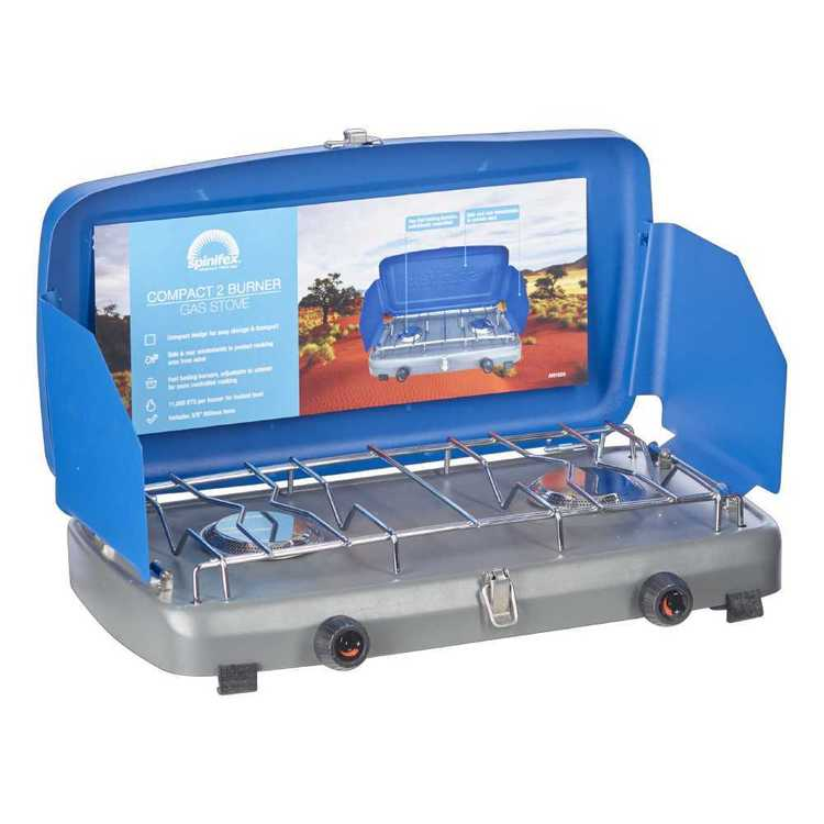 Spinifex 2 Burner Compact Stove Blue