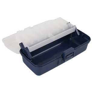 Jarvis Walker Tackle Box One Tray Clear Top