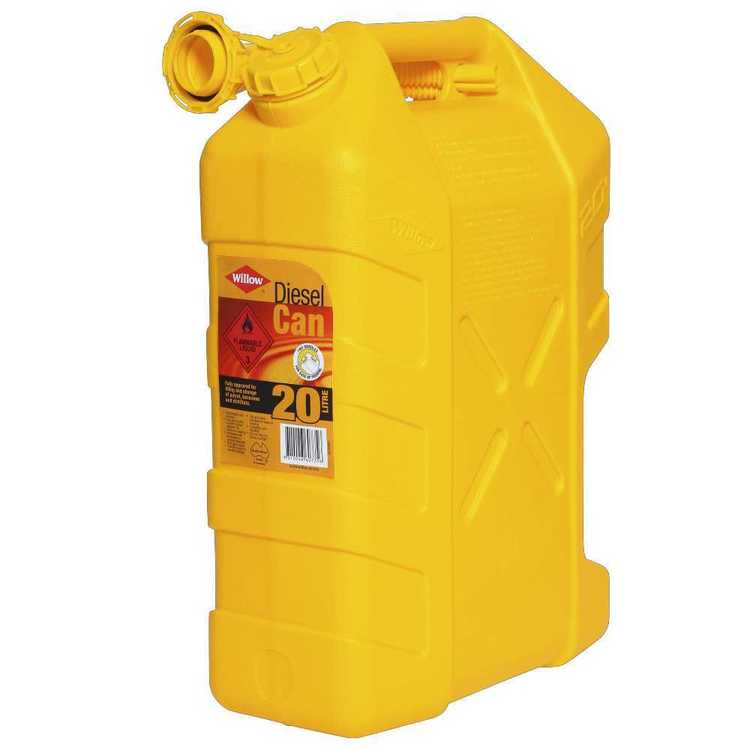 Willow 20L Diesel Can Yellow