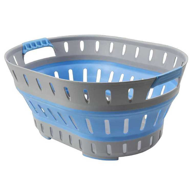 Companion Popup Laundry Basket Blue