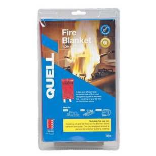 Quell Fibreglass Fire Blanket