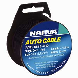 Narva 10A Single Core Cable