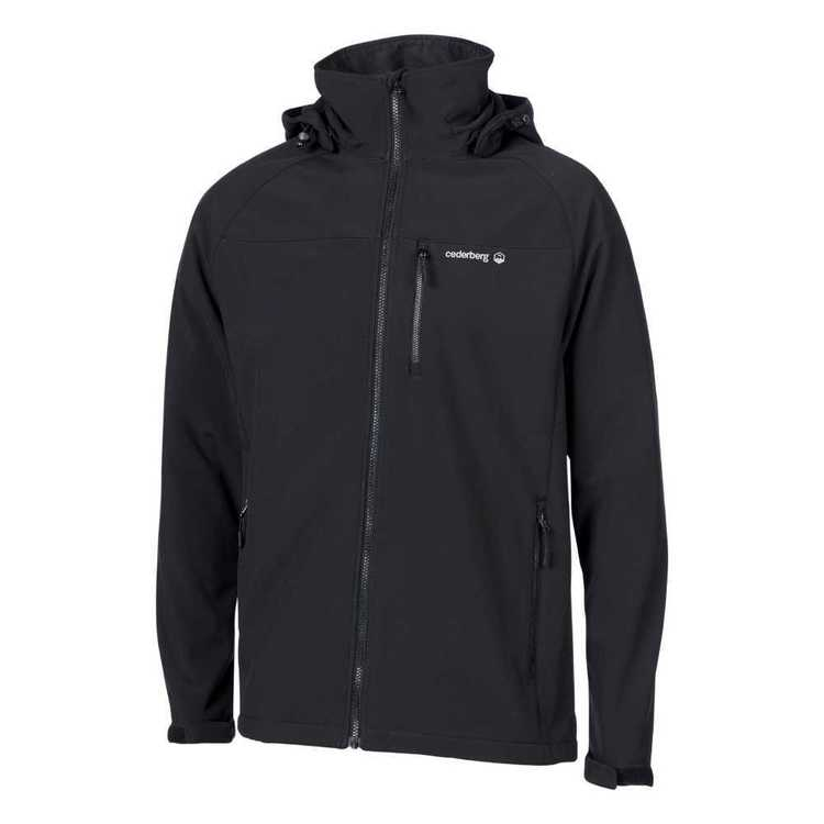 Cederberg Men's Camino Softshell Jacket Black