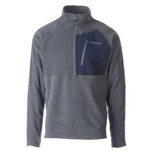 Cederberg Men's Lancefield II Quarter Zip Fleece Top