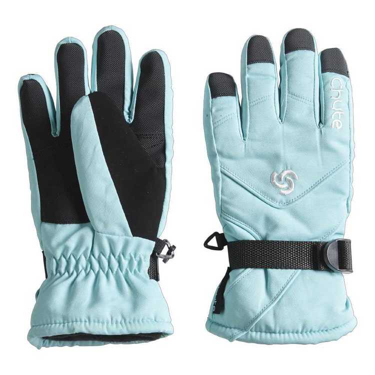 Chute Kid's Spark Snow Gloves Aruba Blue Small