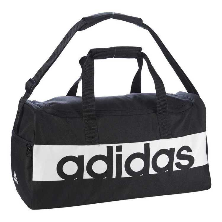 adidas Linear Performance Small Team Bag Black & White Small