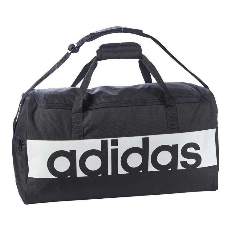 adidas Linear Performance Medium Team Bag Black & White Medium