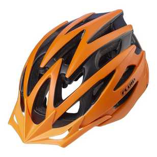 Fluid Adult's Rapid Burnt Orange Bike Helmet